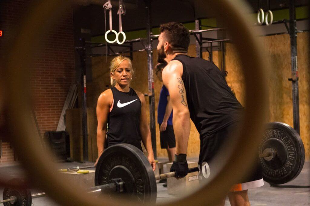 Primeros entrenamientos de Fitness Funcional Adaptado en el Box de CrossFit LCS