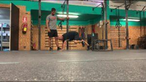 RAC - Paciente ejercitando resistencia y flexibilidad